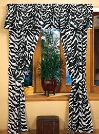 Wonderful Animal Print Curtains and Zebra Animal Print Bedding