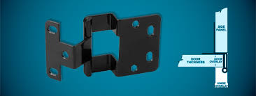 18 non mortise cabinet hinges amerock bp2355 ae non self