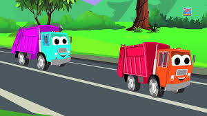 100 Trash Truck Video For Kids Garbage Finger Family Finger Family Nursery Rhymes