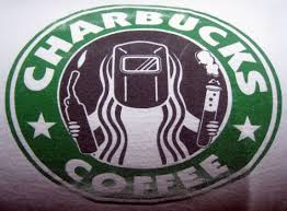 I Decided Not To Wear My Charbucks Shirt At Starbucks Coffee College