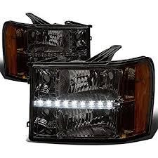 Depo Auto Lamps Catalog Pdf by Amazon Com Spyder Auto Pro Yd Gy07 Hl Sm Smoke Halo Projection