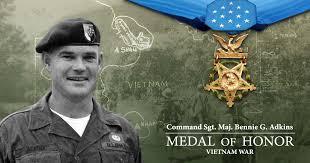 command sergeant major bennie g adkins medal of honor recipient