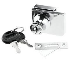 amazon com glass cabinet lock for ikea detolf argos hinged glass
