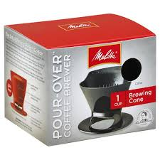 Melitta Coffee Brewer Pour Over Brewing Cone 1 Cup