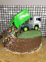100 Rubbish Truck Garbage Truck Cake Torta In 2019 Garbage Truck Party