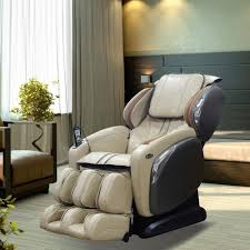 Osaki Massage Chair Os 4000 by Titan Osaki Ivory Faux Leather Reclining Massage Chair Os 4000ls