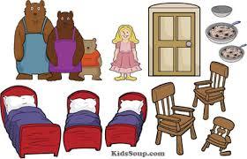 Goldilocks And The Three Bears Felt Story Printables Activities