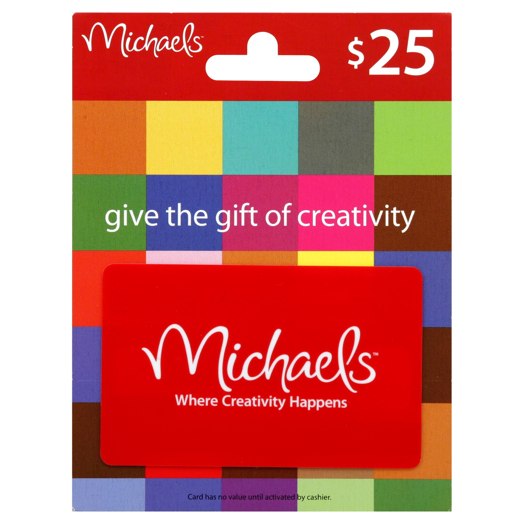 Michaels Gift Card,