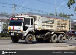 100 Mitsubishi Fuso Truck Private Dump Stock Editorial Photo