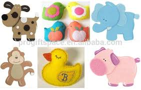 Hot Sale Simple Fashion China Items Diy Fabric Shapes Decorations