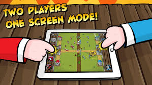 Castle Raid Universal Same device multiplayer game by
