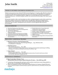 Chemical Engineering Resume Examples 42 Best Templates Samples Images On