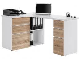 bureau angle design bureau d angle design en bois chêne sonoma albert bed and