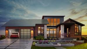 why tesla s new solar roof tiles and home battery are such a big