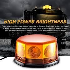 100 Strobe Light For Trucks Amazoncom Led Emergency Beacon Amber 40 Watt 10