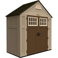 Suncast 7 X 7 Alpine Shed by Suncast Storage Shed U2014 200 Cu Ft Model Bms7300 Resin Sheds