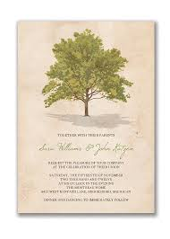 Tree Rustic Wedding Invitation Via Etsy