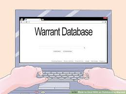 Bench Warrants In Florida by How To Deal With An Outstanding Warrant 11 Steps With Pictures