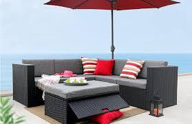 Patio Furniture Set Under 300 by Amazon Com Baner Garden K35 4 Pieces Outdoor Furniture Complete