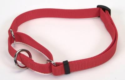 Coastal Pet Products Nylon No Slip Adjustable Greyhound Collar - Red