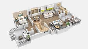 Get A Home Plan Get A Realistic View Of Proposed Building With 3d Floor Plan