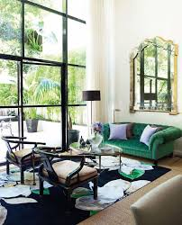 Sage Green Sofa Living Room Transitional With Velvet Lounge Glass Wall