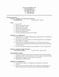 Sample Cpa Resume Public Accounting New In Accountancy Firms Sales Accountant Of