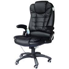 fauteuil de bureau fauteuil de bureau cuir noir massant et chauffant bc elec