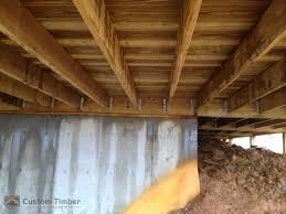 beams joist hangers custom timber log homes