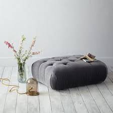 need to get an white ottoman to go with my tufted so i