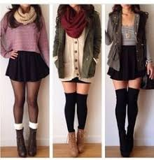 Winter Outfits With Skirts