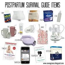 Postpartum Survival Guide C Section Recovery