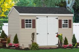 10x12 Shed Material List by Outdoor Vinyl Sided Storage Sheds Maintenance Free