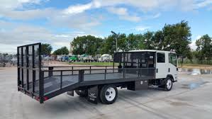 2016 Isuzu NPR-HD Landscape Truck For Sale | WorkTruckReport