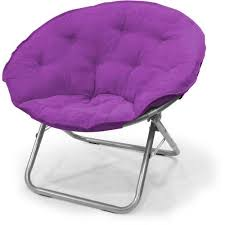 Oversized Saucer Chair Zebra Print mainstays large microsuede saucer chair multiple colors walmart com
