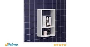 kungyo schichten kunststoff würfel badezimmer wandregal weiß