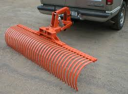 100 Hitches For Trucks SUV Mounted Landscape Rake