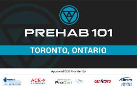 Prehab 101 Seminar Toronto, Ontario
