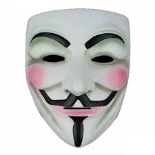 Purge Mask Halloween by 2x Anonymous V For Vendetta Guy Fawkes Fancy Dress Halloween Mask