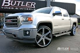 GMC Sierra With 26in Versante 228 Wheels Exclusively From Butler ...