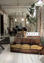 vintage wohnzimmer industriechic industrial look fabrik