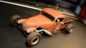 100 41 Chevy Truck Rat Rod Model YouTube