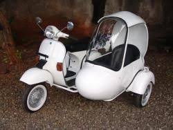 Vespa Excel 150 With Sidecar Scooter 99