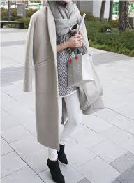 Grey Coat White Jeans Winter Whites Black Booties Shopping Outfits Holiday