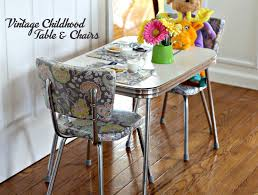 Vintage Childhood Chrome Table And Chairs Restoration ... Vintage Chrome Easy Ding Chairs Supply Store 2 And Velvet Mid Century Modern Beige Tan Legs Minimalist 1950s Retro Tables Wayfair Set Of Six Luxurious Brass By Belgo Cool Dinettes Style Cadian Made Sets Vinyl 4 1980s Vintage Chrome And Vinyl Ding Chairs Set Of 6 Porthos Home Diner We Found This Great Formica Chrome Set At An Yellow 89 Off Kitchen
