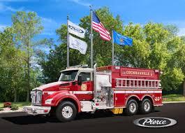 100 Pierce Trucks Cochranville Fire Company Tanker