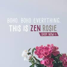 Boho Clothing Accessories Lifestyle ZEN ROSIE Zen Rosie