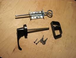 shed door hardware door handle sets