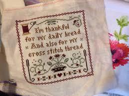 Frosted Pumpkin Stitchery Kit by Cross Stitch Thedoghairstitchery