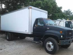 2002 Used GMC C7500 22 Foot Box Truck Power Windows & Power Locks ...